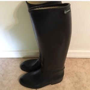 Aigle rubber riding boots, Size 38